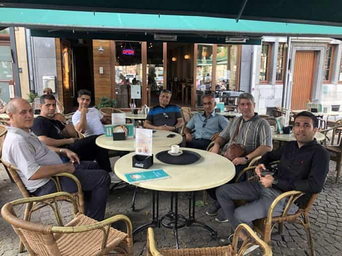 مسافرت مشتریان فعال شرکت به کشور هلند 2018